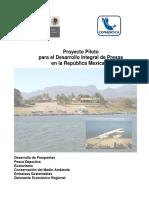 Proyecto Piloto para el Desarrollo Integral de Presas en la República Mexicana. CONAPESCA
