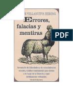 Villanueva Hering Peter - Errores Falacias Y Mentiras