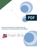 Instalación y Configuración Del Componente Firma Digital