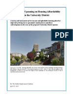 SDC - U District Housing Survey Revised