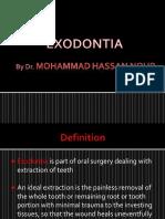 My Exodontia