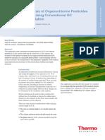Thermo Scientific Organochlorine Pesticides Application Note(1)