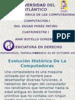 Evolución Histórica de Las Computadoras