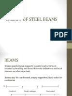 Design of Steel Beams (1)
