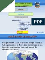 Las Glaciaciones ..JAIRO M PPT