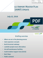 Port of Seattle - Sustainable Airport Master Plan Update - July 2016