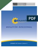 Boletin de Senamhi -Junin DZ-11 Diciembre 2016