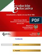 Analisis Reforma Ley 30