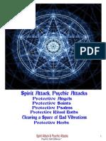 Spirit Attack & Psychic Attacks