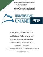 ENMIENDAS CONSTITUCIONALES