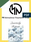 quarterly report 1 pdf