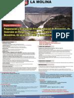 Preparación de Proyectos de Inversión en Riego y Drenaje, en Condiciones de Riesgo de Desastres.
