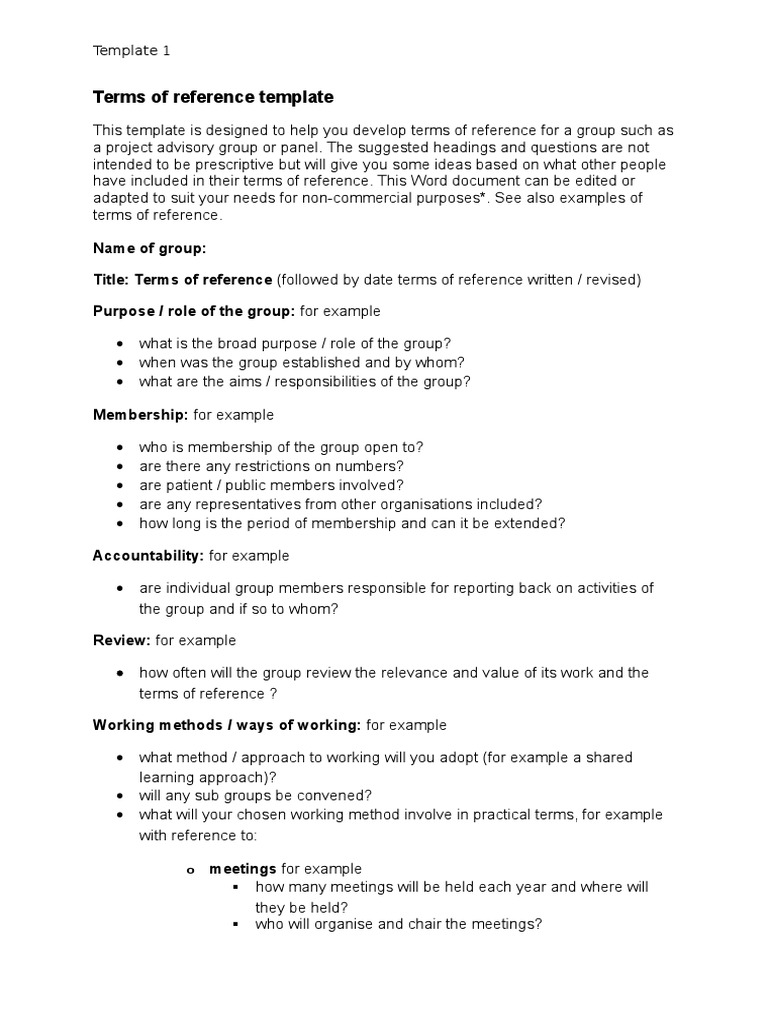 Terms of reference template 13cx copyright intellectual works pronofoot35fo Choice Image