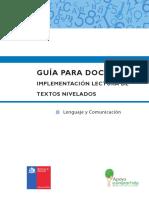 implementación Lectura de Textos