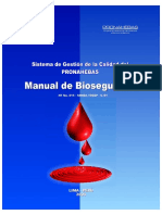 Manual de Bioseguridad