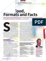 Fresh Food, Formats and Facts