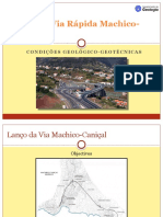 Lanço da via Rápida Machico-Caniçal