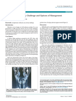 Vallecular Cyst Airway Challenge and Options of Management 2161 119X.1000158