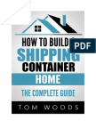 Sample Copy- How to Build a Shipping Container Home