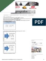Ingeografos_ Transformación de Coordenadas UTM - Psad56 a Wgs84 y Visceversa