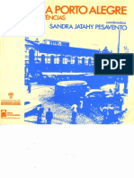 PESAVENTO, Sandra. Memória Porto Alegre- Espaços e Vivências 1ed