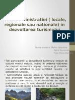 Rolul Administratiei Locale Regionale Sau Nationale Maftei Petric Popa E.