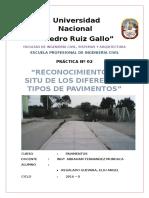 Modelo Reconocimiento in Situ de Los Diferentes Tipos de Pavimentos