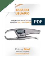 Manual Adipometro = PRIME Med