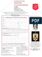 2017 Community Luncheon Sponsorship Form