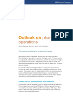 Outlook on Pharma Operations