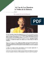 Los Maestros Budistas
