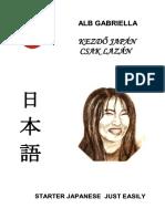 Alb Gabriella - Kezdő Japán Csak Lazán