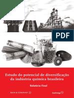 Estudo Do Potencial de Diversificacao Da Industria Quimica Brasileira