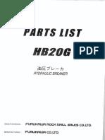 HB20G (1) hydraulic hammer