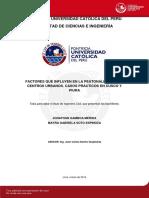 Gamboa Jonathan Peatonalizacion Centros Urbanos Casos Practicos Cusco Piura