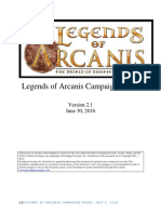 Legends of Arcanis Campaign Guide v2.1