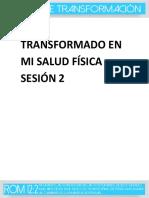 Sesion 2-Transformado en Mi Salud Fisica