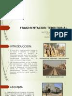 Fragmentacion Territorial