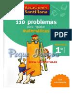 110 Problemas Matemáticas 1 - Libro Selva 1