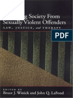 Winick & La Fond (eds.) - Protecting Society from Sexually Dangerous Offenders; Law, Justice, and Therapy (2003).pdf