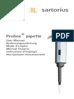 Manual Pipeta Sartorius