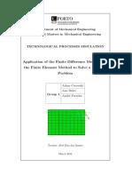 SPT Analise Termica MEF MDF