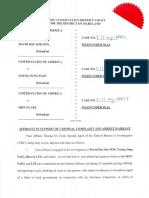 Son Paig Lee Criminal Complaint Affidavit