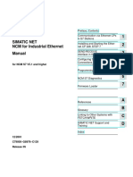 NCM S7 for Industrial Ethernet Manual