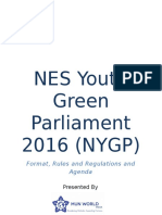 nygp format rules and agenda 2016  1