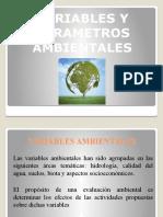 Que Son Los Parámetros Ambientales