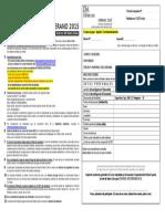 2015 Ficha de Inscripción Cursos de VERANO