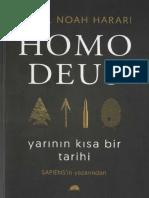 Yuval Noah Harari - Homo Deus Yarının Kısa Bir Tarihi