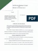 Noriana Radwan First Amendment lawsuit against University of Connecticut