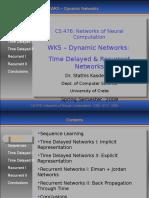 WK5 - Dynamic Networks